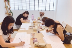 Group Calligraphy Workshop