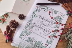 Christmas Card Calligraphy Workshop